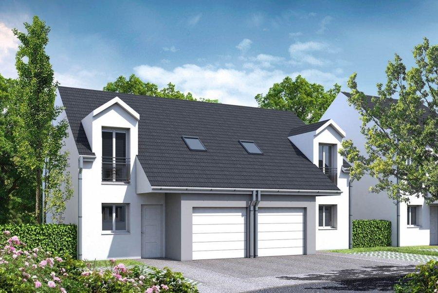 acheter maison mitoyenne 5 pièces 80.1 m² courcelles-sur-nied photo 1