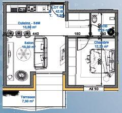 acheter appartement 0 pièce 42.6 m² mont-saint-martin photo 2