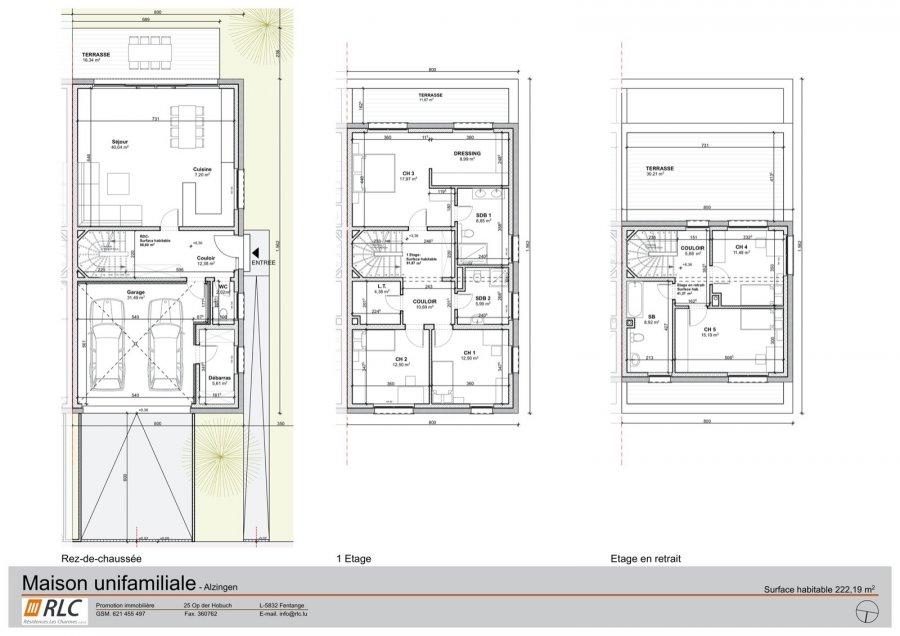 doppelhaushälfte kaufen 5 schlafzimmer 220 m² alzingen foto 2