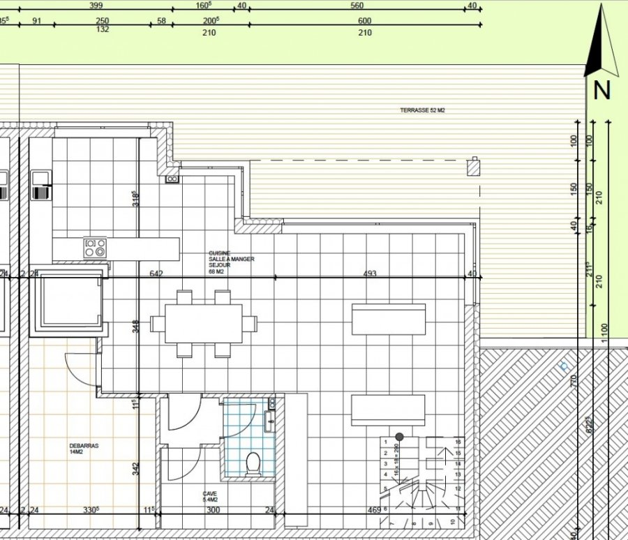 acheter maison jumelée 4 chambres 240 m² useldange photo 4