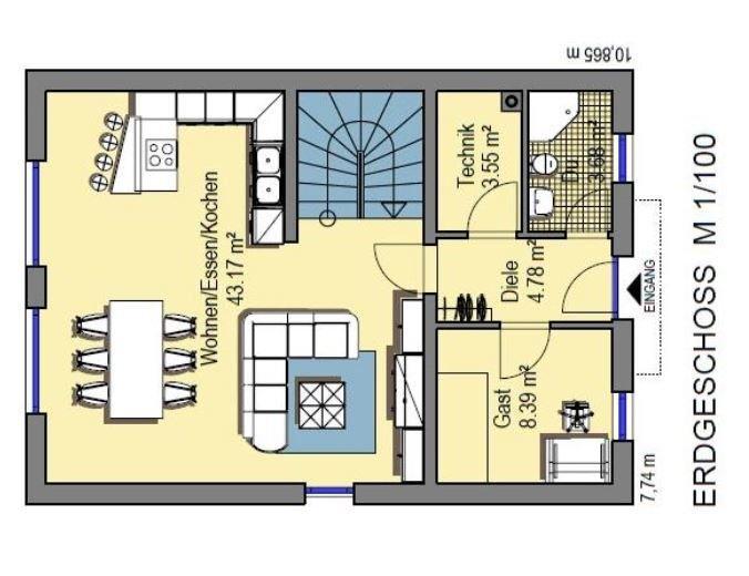 acheter maison individuelle 6 pièces 124 m² merzig photo 2