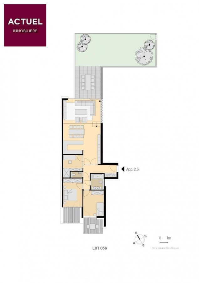 acheter appartement 2 chambres 125.92 m² luxembourg photo 2