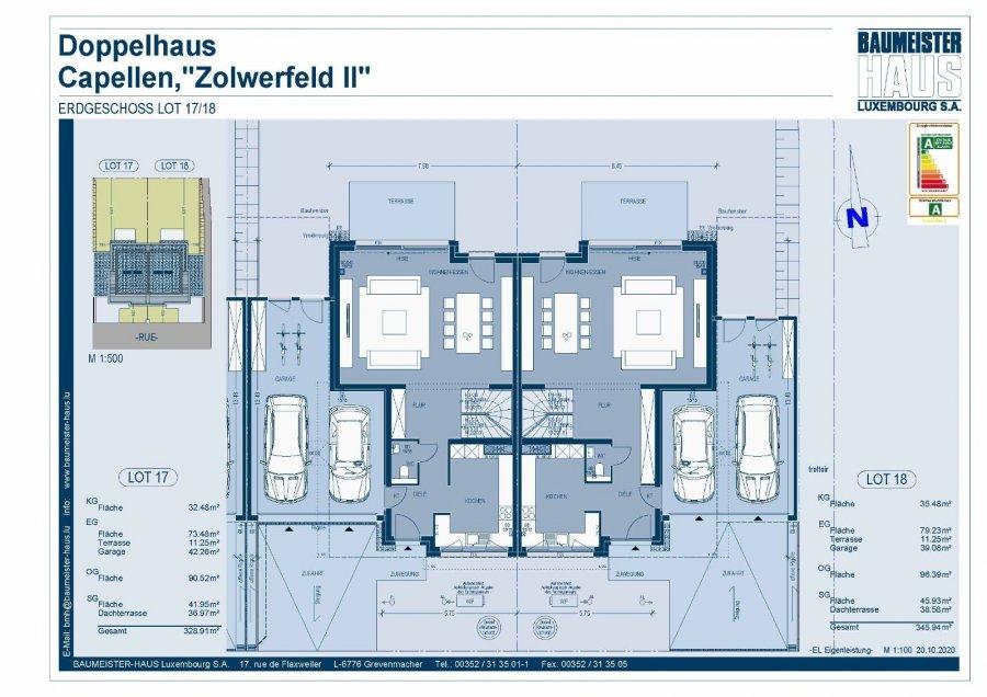 acheter maison jumelée 5 chambres 251 m² capellen photo 4