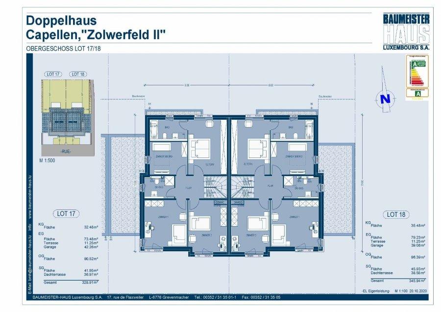 acheter maison jumelée 5 chambres 251 m² capellen photo 6