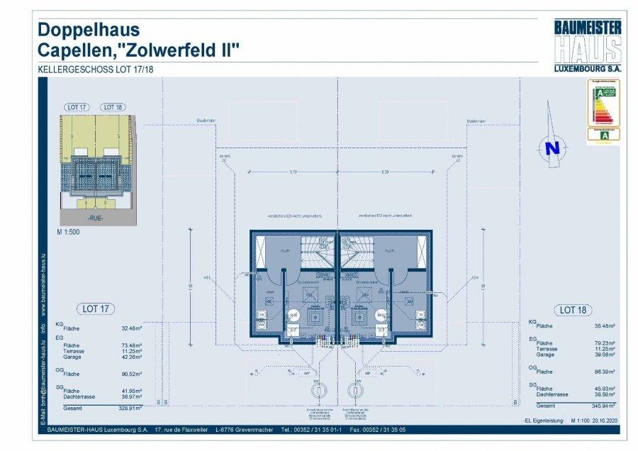 acheter maison jumelée 5 chambres 251 m² capellen photo 7