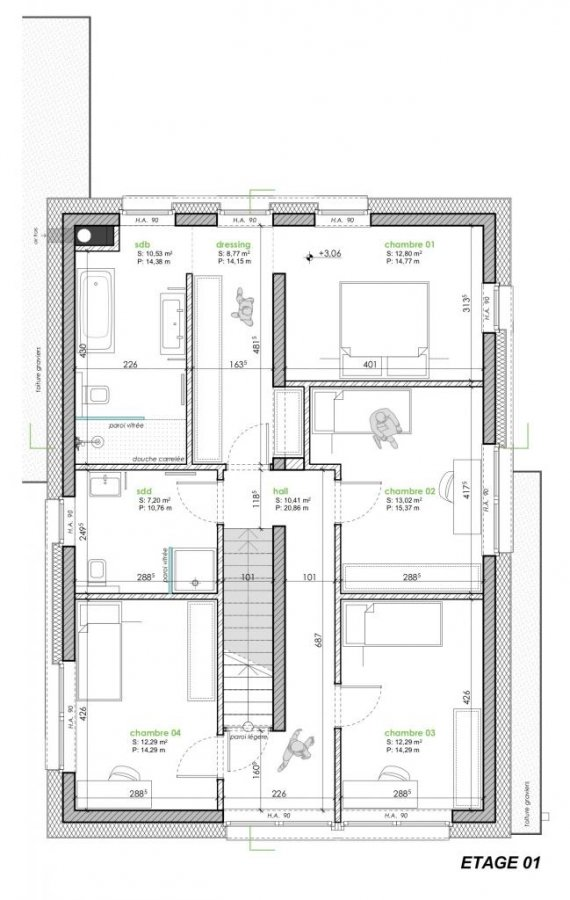 acheter maison mitoyenne 4 chambres 181 m² warken photo 4