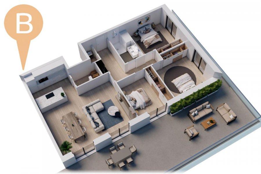 Penthouse à vendre 3 chambres à Wemperhardt