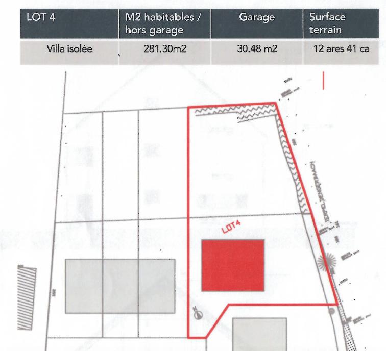 acheter maison individuelle 5 chambres 312 m² erpeldange (bous) photo 4