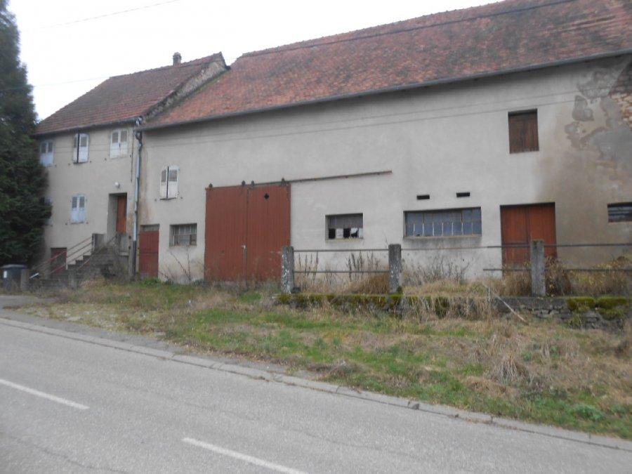 acheter maison 5 pièces 110 m² rohrbach-lès-bitche photo 1