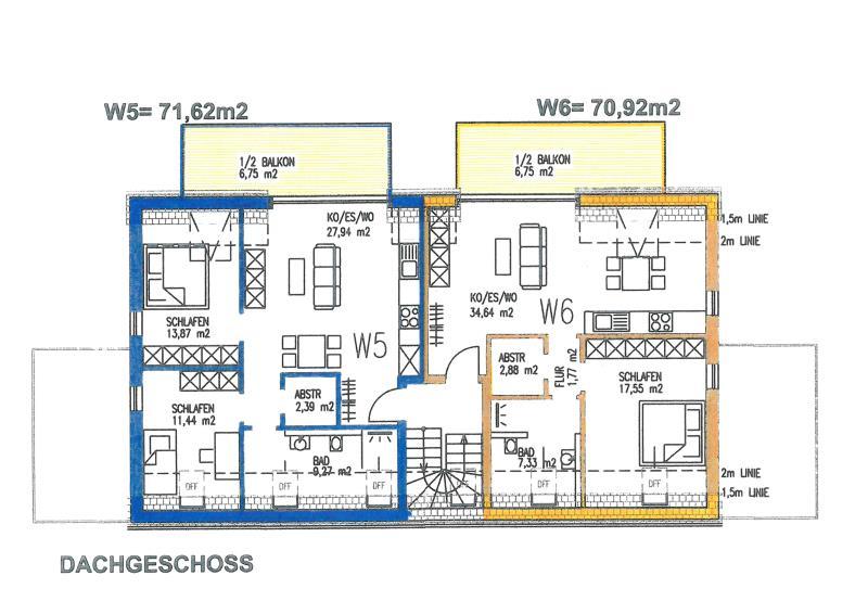 wohnung kaufen 2 zimmer 57.07 m² trier foto 4