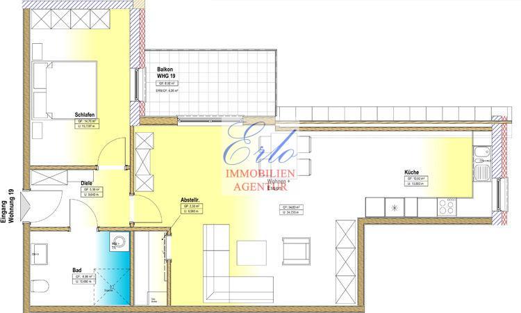 acheter appartement 2 pièces 78.89 m² zerf photo 2
