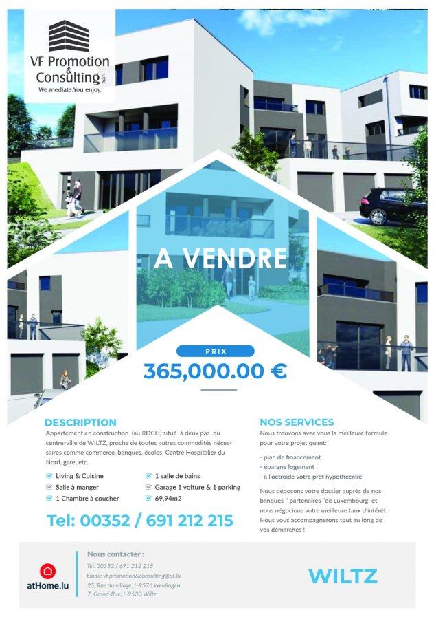 acheter appartement 1 chambre 69.94 m² wiltz photo 4