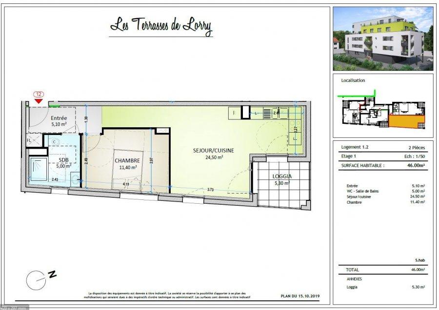 acheter appartement 2 pièces 46 m² metz photo 2
