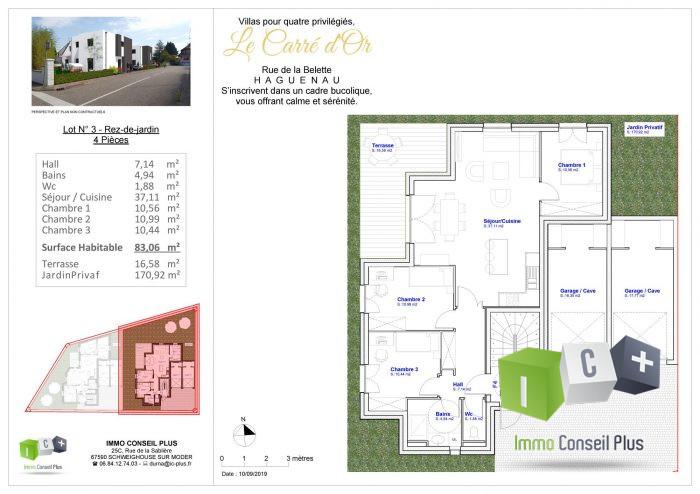 acheter appartement 4 pièces 80 m² haguenau photo 4