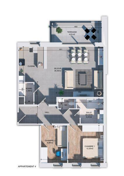 apartment for buy 0 room 89 m² huy photo 2