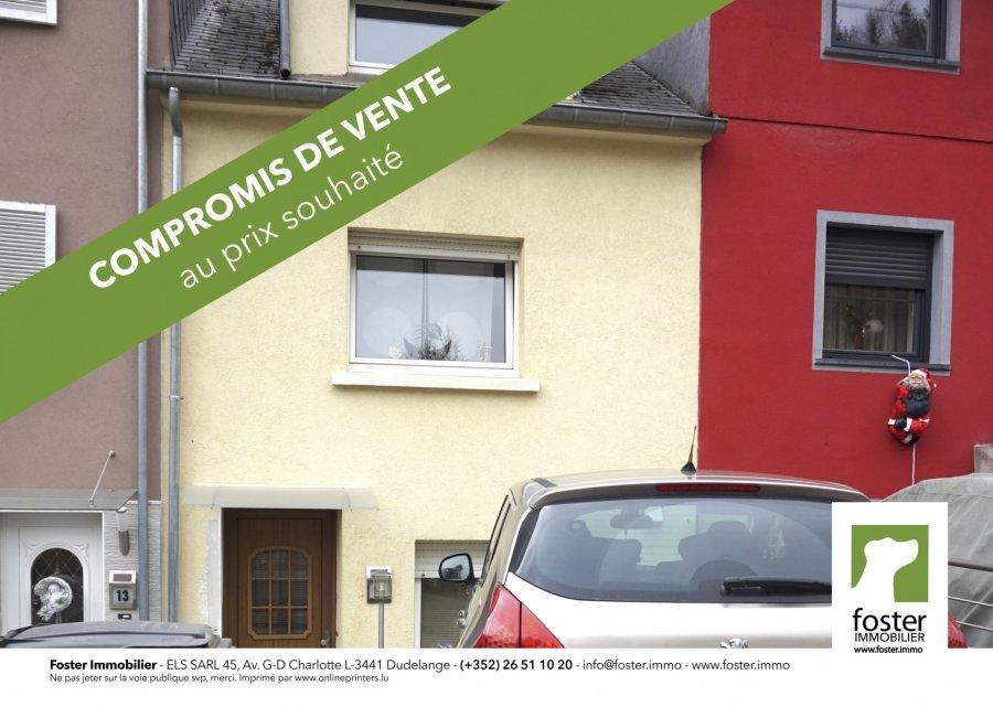 acheter maison 3 chambres 104 m² rumelange photo 1