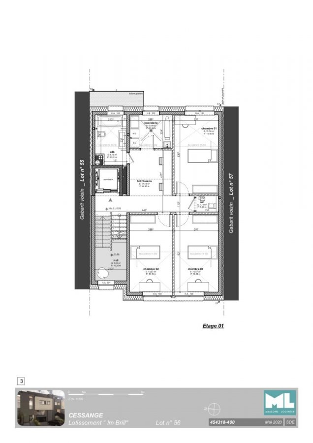 acheter maison mitoyenne 4 chambres 221 m² luxembourg photo 5