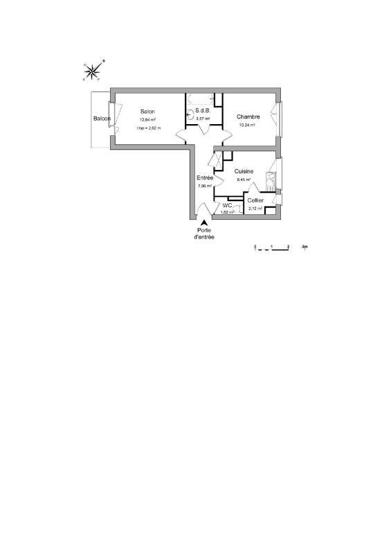 louer appartement 2 pièces 47 m² saint-max photo 4