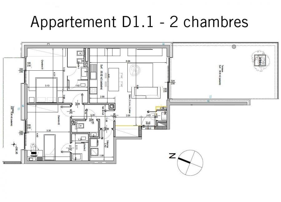 acheter appartement 2 chambres 98.48 m² bertrange photo 2
