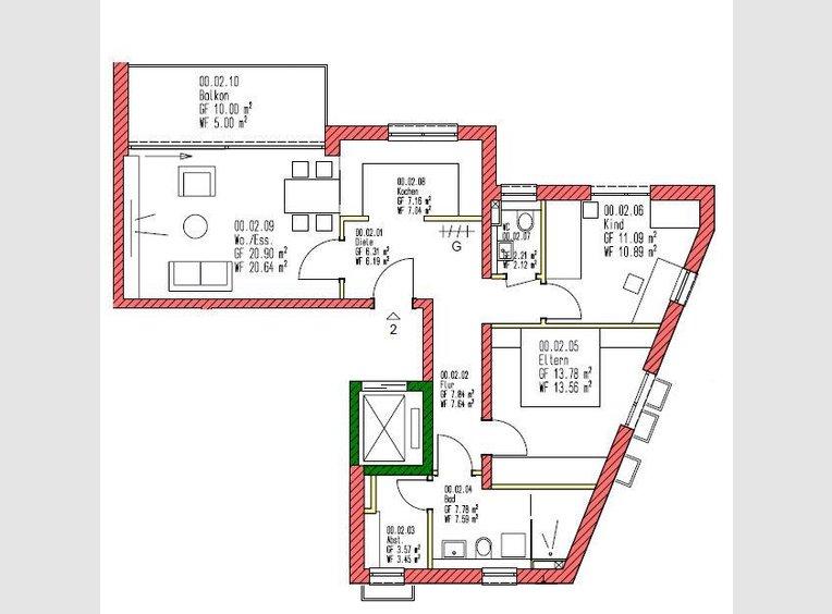 Appartement à vendre 3 Pièces à Trier (DE) - Réf. 7213247