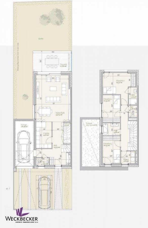 acheter maison jumelée 4 chambres 187.02 m² mondercange photo 3