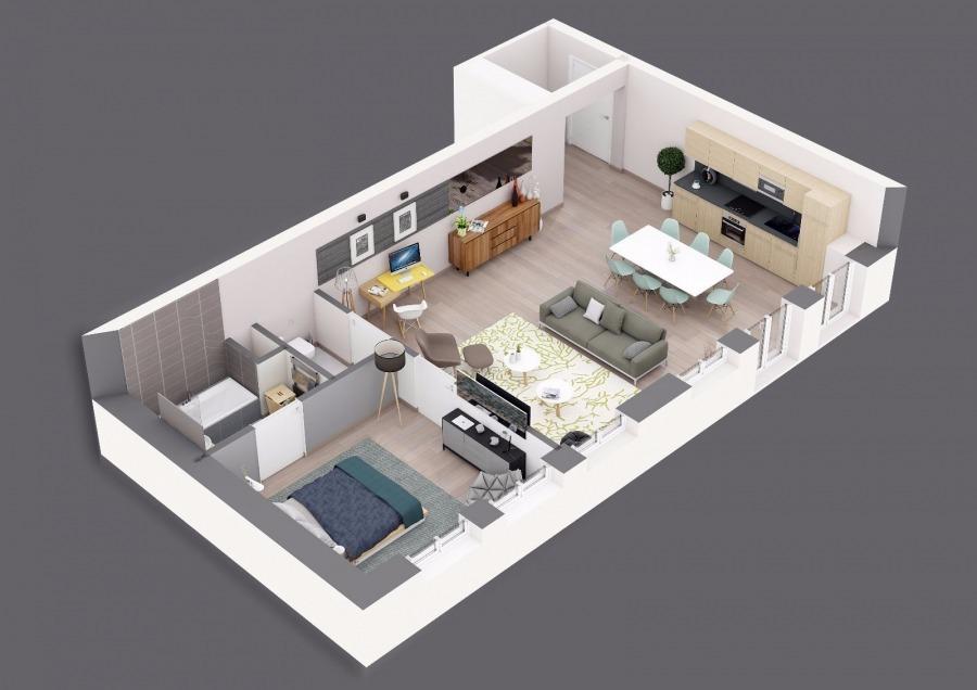 Appartement en vente metz 85 m 241 500 immoregion for Acheter un appartement en construction