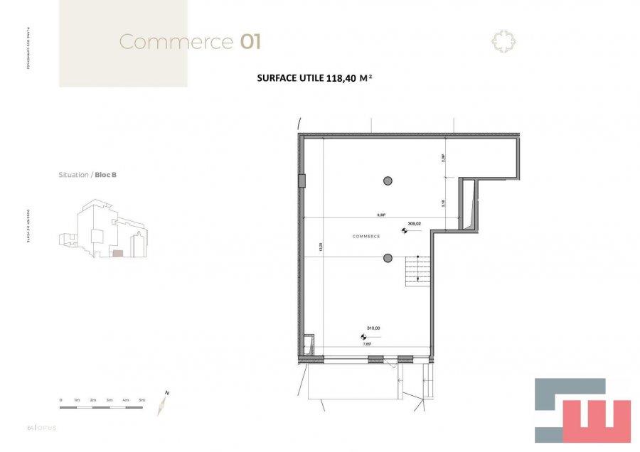 acheter local commercial 0 chambre 118.4 m² differdange photo 4