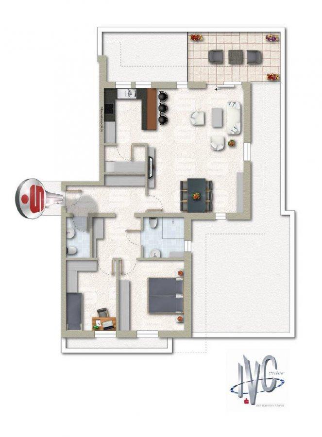 acheter appartement 3 pièces 100 m² überherrn photo 1