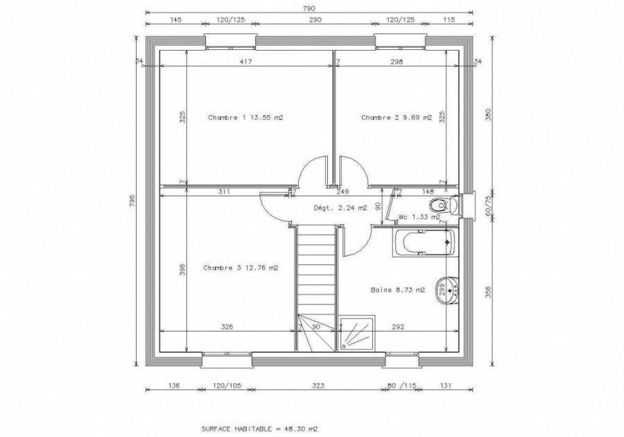 acheter maison 5 pièces 92 m² ottange photo 3
