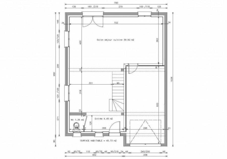 acheter maison 5 pièces 92 m² ottange photo 2