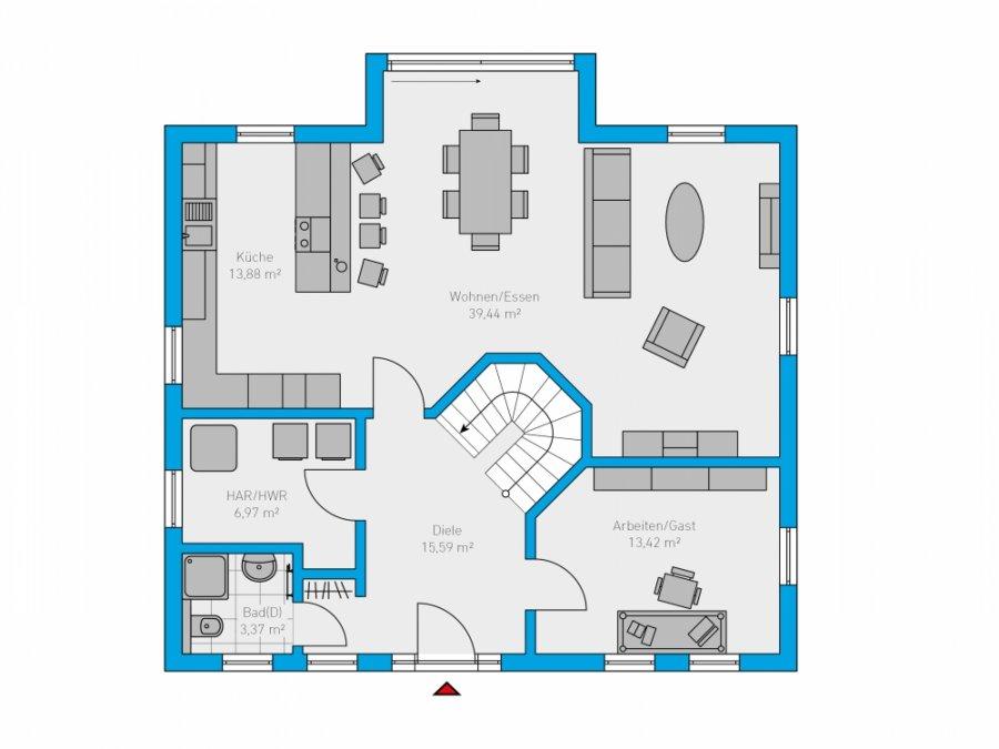 acheter maison 6 pièces 180 m² perl photo 2