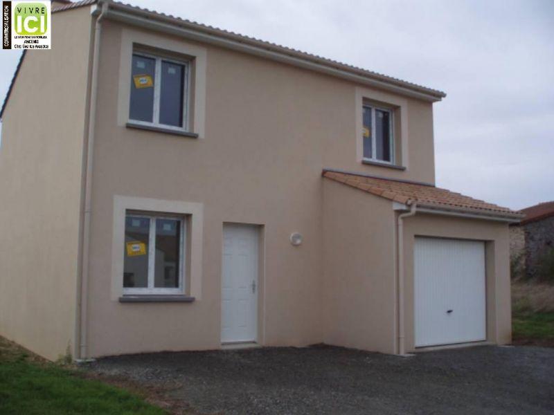 Maison individuelle en vente champtoceaux 88 m 178 for Acheter maison neuve 49
