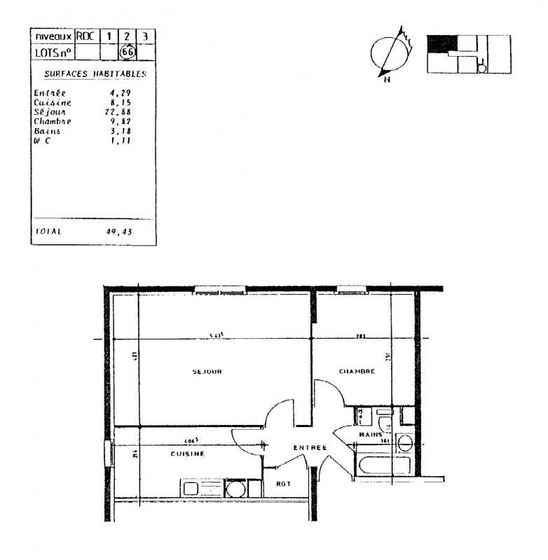 louer appartement 2 pièces 49 m² nancy photo 2