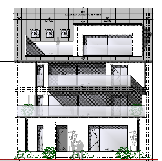 En vente nouvelle résidence disposant de 3 appartements lumineux, exposition Sud.    Vous pouvez dès maintenant réserver votre appartement de rêve dans cette résidence !    Prix à partir de 795000-850000€    - Appartement au 1er étage (2-4 chambres, modulable entre 2 et 4 chambres dépendant de la volonté de l'acquéreur) de +/-135 m2 avec  jardin privatif (côté plein SUD)  terrasse et verdure de +/-65m2 (côté plein SUD)  Balcon de 10m2  ascenseur privatif    - Appartement au 1er étage (2-4 chambres, modulable entre 2 et 4 chambres dépendant de la volonté de l'acquéreur)  à +/-130 m2 (net habitable) avec   jardin privatif (côté plein SUD)  deux balcons de 16m2 + 10m2 (côté plein SUD)  ascenseur privatif   - Penthouse (2-3 chambres) à +/- 101.3m2 (net habitable) avec   jardin privatif (côté plein SUD)  deux terasses de 10m2 + 9m2 (côté plein SUD)  ascenseur privatif  Emplacements intérieurs dans garage avec accès à l'ascenseur privatif  Vente en futur état d'achèvement (VEFA)    Actuellement, il est encore possible de changer les dispositions des intérieurs des appartements, c'est-à-dire tailles des différents pièces ( living/ chambres/SBD/SDD) etc !!!   Les appartements/penthouses seront livrés 'clés en main'.   De nombreuses options et possibilités de personnalisation sont offertes pour chaque logement afin de permettre à chacun de définir l'ambiance, les couleurs ou encore les matériaux qui correspondent à ses envies.   L'ensemble de ces paramètres sont définis dans le cahier des charges de la construction, selon le type de logement envisagé.   Chaque lot dispose d'au moins une terrasse, d'un balcon et/ou d'un jardin privatif.   Spécifiés techniques :   - Ascenseur (privatif)  - Ventilation contrôlée double flux - Chauffage au sol  - Châssis PVC Triple vitrage  - Stores électriques Raffstore  - Finitions haut de gamme   La résidence sera érigée à deux pas du centre-ville/école primaire /centres commerciaux/ et avec bon accès aux grands axes de circulation.   Acheter