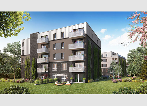 Neuf appartement f3 croix nord r f 5512399 for Appartement f3 neuf