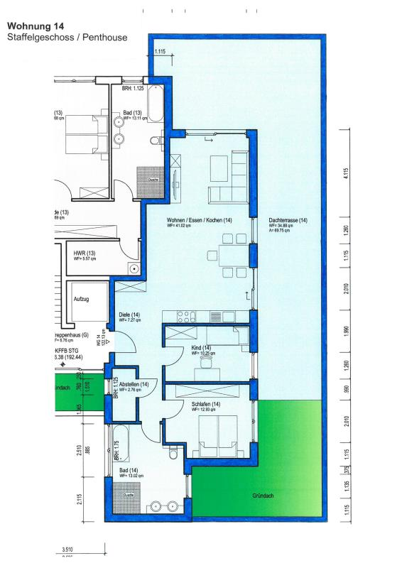 acheter penthouse 3 pièces 122.13 m² wittlich photo 2