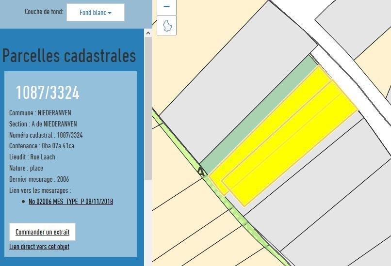 Terrain constructible à vendre à Niederanven