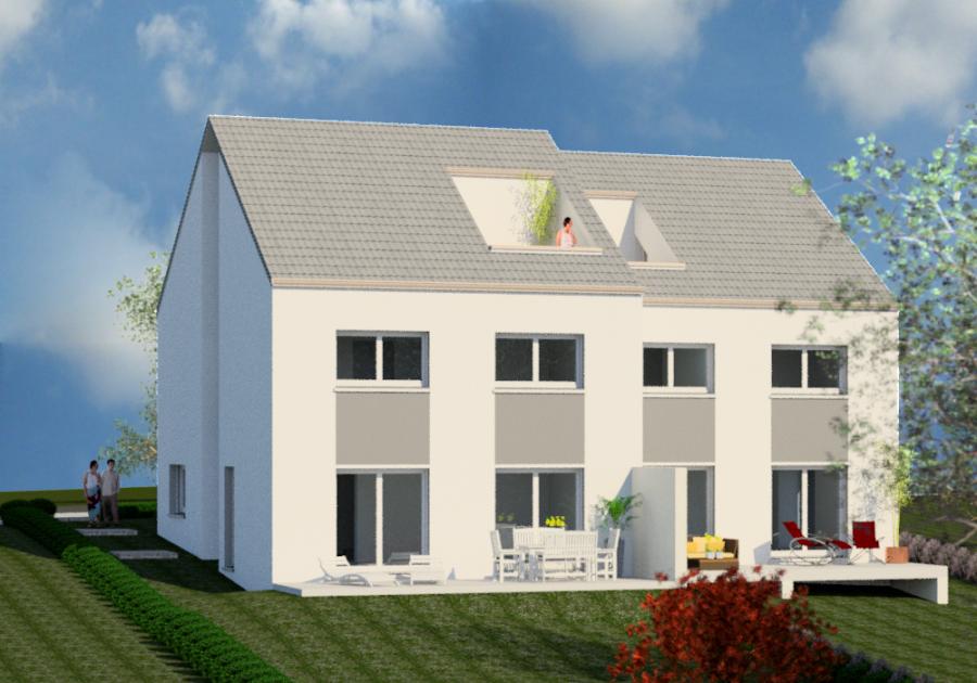 acheter maison jumelée 3 chambres 162 m² erpeldange (bous) photo 2