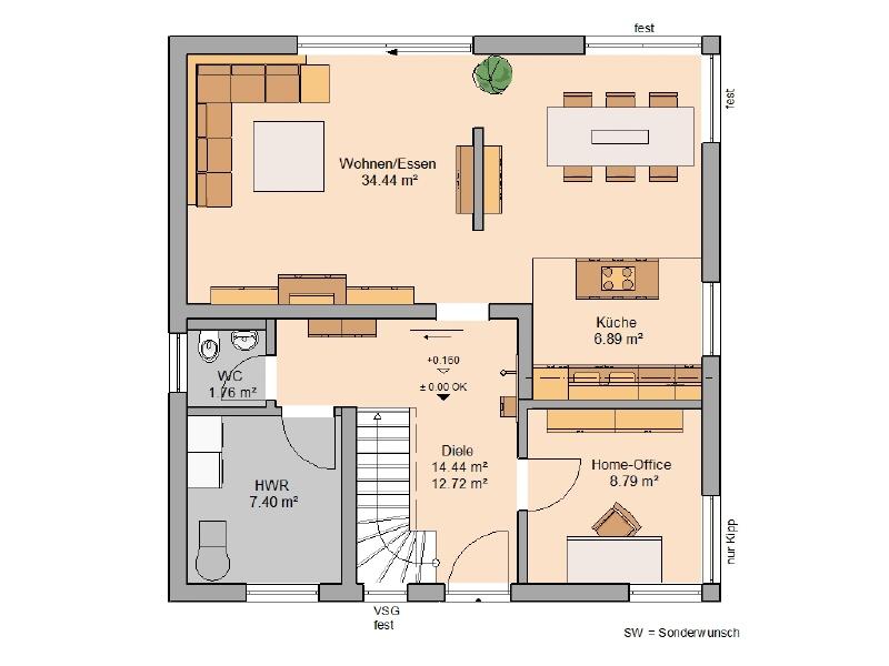 haus kaufen 5 zimmer 131 m² kell foto 3