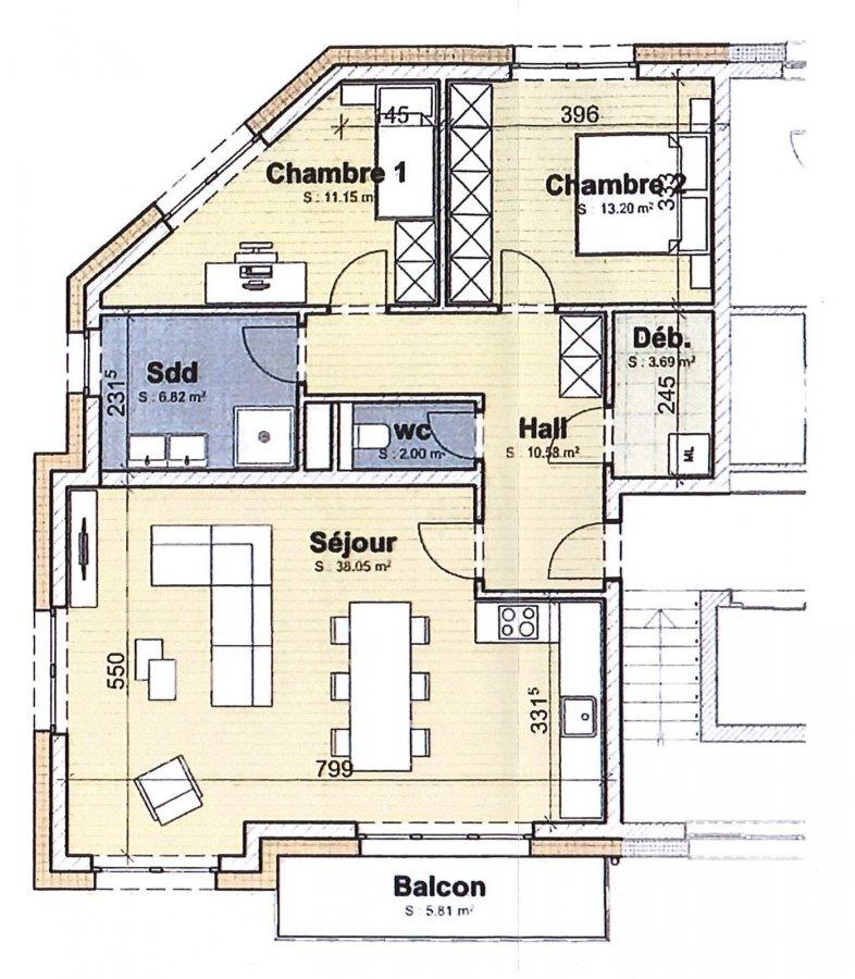 acheter appartement 2 chambres 88.08 m² boevange-sur-attert photo 2