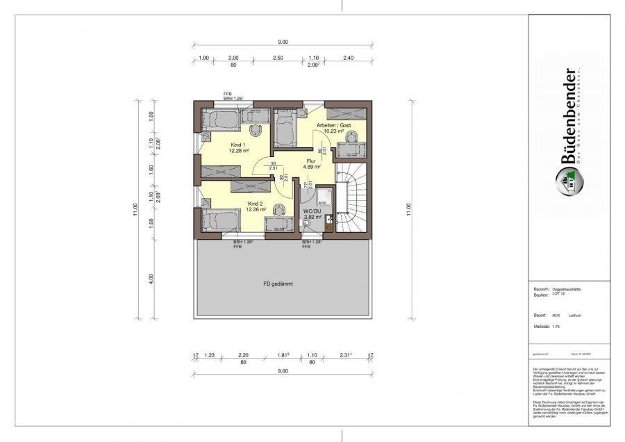 doppelhaushälfte kaufen 4 schlafzimmer 150 m² leithum foto 7