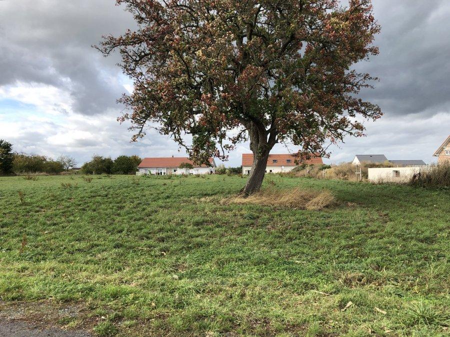 Terrain constructible à vendre à Hommarting