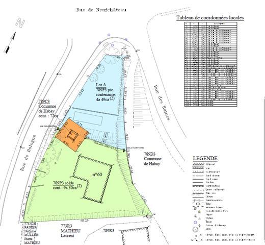 acheter terrain constructible 0 pièce 0 m² habay photo 4