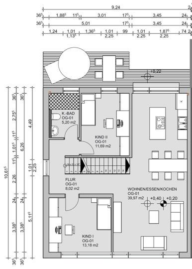 acheter maison jumelée 4 chambres 175 m² bollendorf-pont photo 4