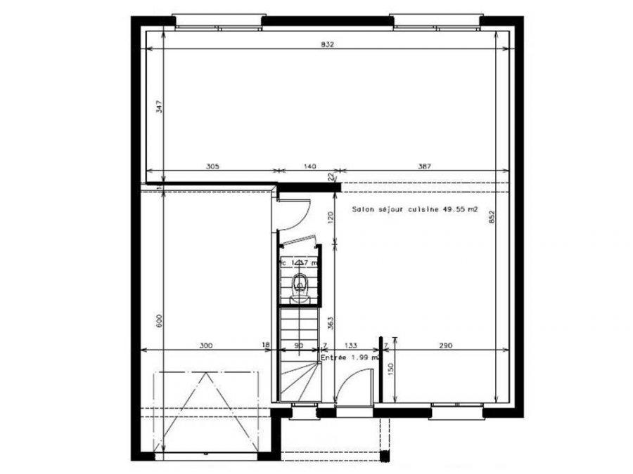 maison individuelle en vente ars laquenexy 118 m 214 000 immoregion. Black Bedroom Furniture Sets. Home Design Ideas