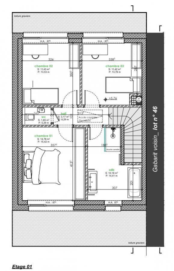 acheter maison mitoyenne 3 chambres 151 m² ettelbruck photo 5