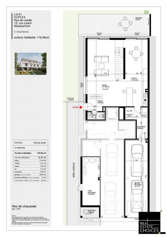 duplex for buy 3 bedrooms 178 m² niederanven photo 6