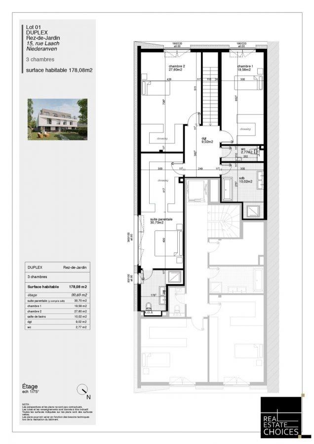 duplex for buy 3 bedrooms 178 m² niederanven photo 7