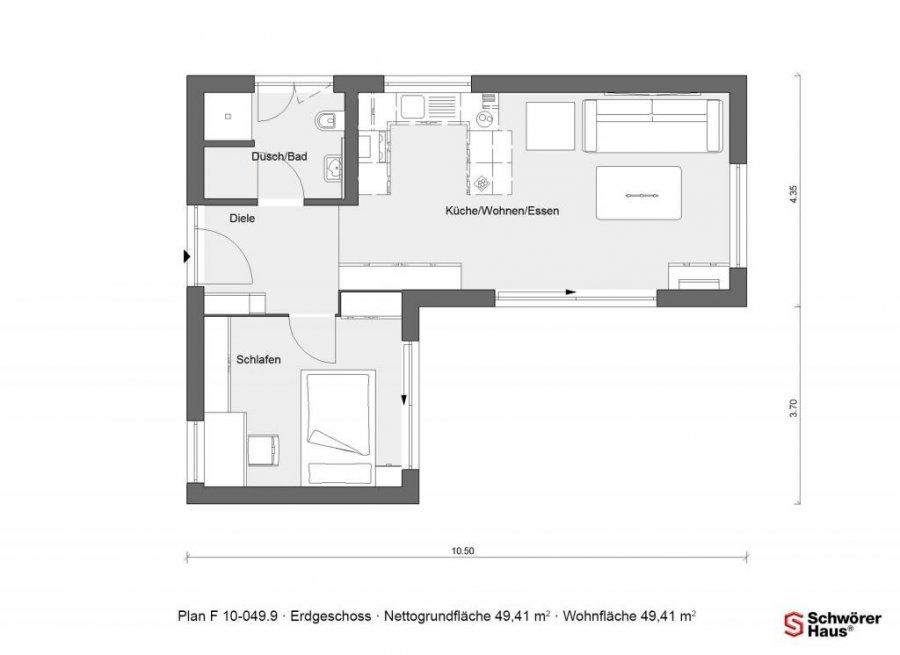 Maison mitoyenne à vendre 1 chambre à Perle