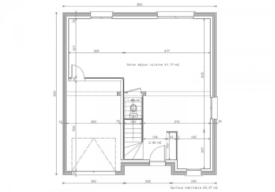maison individuelle en vente nov ant sur moselle 105 m 179 000 immoregion. Black Bedroom Furniture Sets. Home Design Ideas
